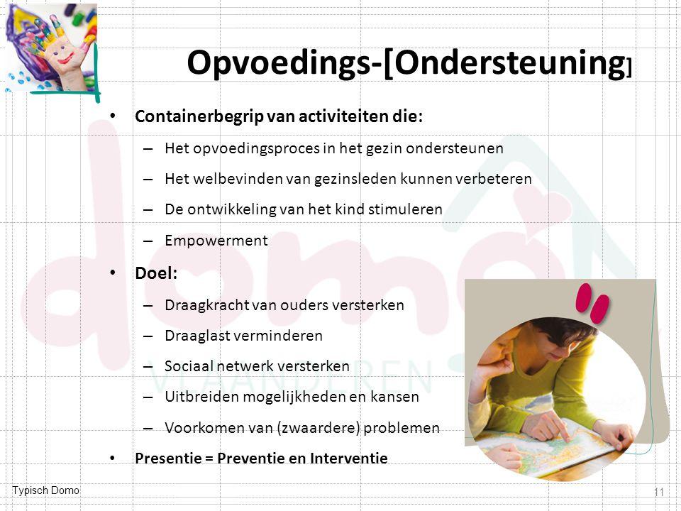 Opvoedings-[Ondersteuning]